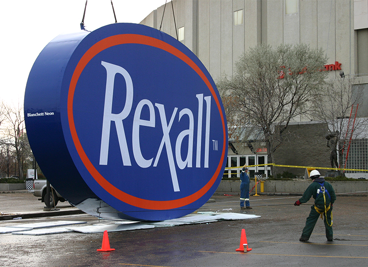 Rexall Place Signage Edmonton