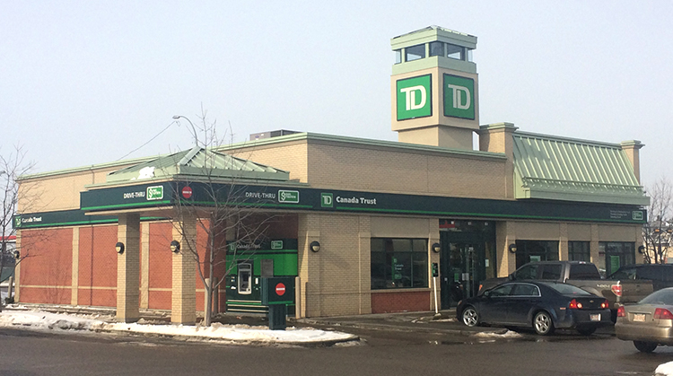 TD Ellerslie Corporate Signage