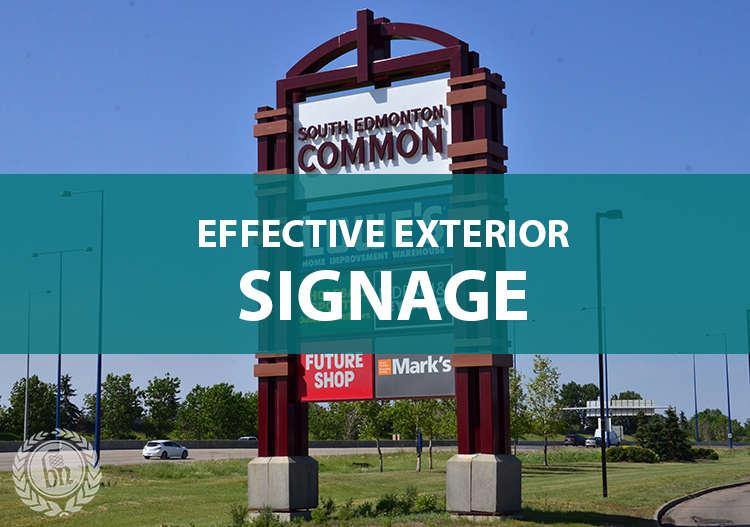 Effective exterior signage tips blanchett neon latest news for Exterior signage design