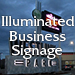 Illuminated Business Signage